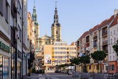 Архитектура в Legnica Польша стоковые фото