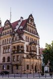 Архитектура в Legnica Польша стоковое фото rf