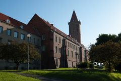 Архитектура в Legnica Польша Стоковая Фотография
