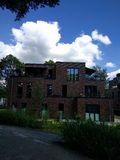 Архитектура Гамбурга Стоковое Фото