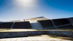 Архитектура города культуры Галиции в Santiago de Compostela Стоковое Изображение