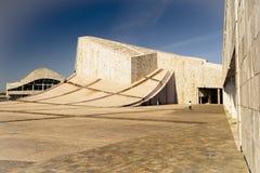Архитектура города культуры Галиции в Santiago de Compostela Стоковое Изображение RF