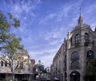 Архитектура города берега реки традиционная великобританская стоковые фотографии rf
