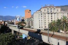 Архитектура, городская, Medellin, Колумбия Стоковое Изображение