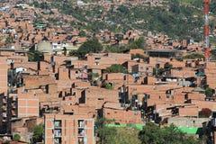 Архитектура, городская, Medellin, Колумбия Стоковая Фотография