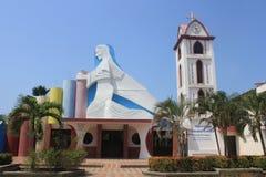 Архитектура, главный парк, Arboletes, Antioquia, Колумбия Стоковое Изображение RF