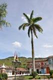 Архитектура, главный парк, ³ n ConcepciÃ, Antioquia, Колумбия Стоковые Фотографии RF