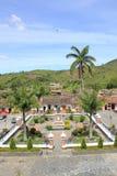 Архитектура, главный парк, ³ n ConcepciÃ, Antioquia, Колумбия Стоковая Фотография