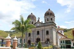 Архитектура, главный парк, ³ n ConcepciÃ, Antioquia, Колумбия Стоковые Изображения RF