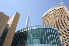 Архитектура Дубай, ОАЭ Стоковое фото RF