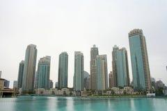Архитектура Дубай, ОАЭ Стоковая Фотография RF