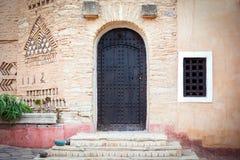Архитектура деревни Medina в Агадире, Марокко Стоковое фото RF