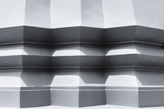 Архитектура детализирует тень картины цемента здания угловую Стоковые Изображения RF