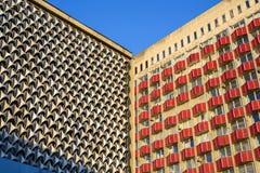 Архитектура жилого дома стоковая фотография