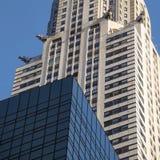 Архитектура здания Крайслера стоковые фотографии rf