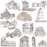 Архитектура и места 2 Стоковые Изображения