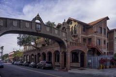 Архитектура Калифорния города берега реки традиционная стоковое фото rf