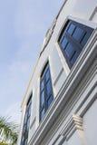 Архитектура китайско-португальской гостиницы стиля стоковая фотография