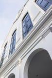 Архитектура китайско--Portusuese гостиницы стиля стоковые фото