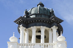 Архитектура Колорадо-Спрингс Pioneers купол музея на крыше Стоковая Фотография RF
