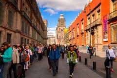 Архитектура Мексики DF Стоковая Фотография RF
