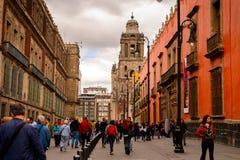 Архитектура Мексики DF Стоковые Фотографии RF