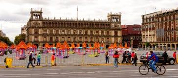 Архитектура Мексики DF Стоковое Изображение RF
