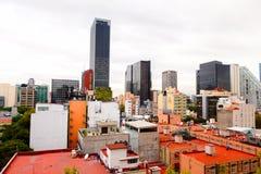 Архитектура Мексики DF Стоковые Изображения