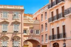 Архитектура Монако-Ville Стоковые Изображения