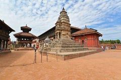 Архитектура наследия ЮНЕСКО Bhaktapur, Катманду, Непала Стоковое Фото