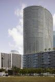 Архитектура на городском Майами стоковые изображения