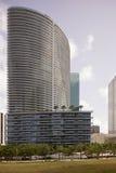 Архитектура на городском Майами стоковые фотографии rf