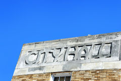 Архитектура на здание муниципалитете Стоковое Изображение