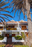 Архитектура на острове Тенерифе - Canaries Стоковое Изображение