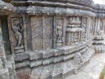 Архитектура на Konark, Odisha стоковые фотографии rf