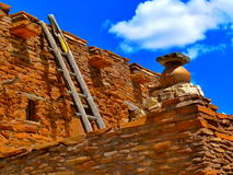 Архитектура Неш-Мексико Стоковое фото RF