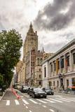Архитектура Нью-Йорка, США стоковые изображения rf