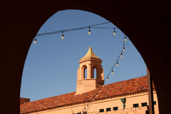 Архитектура обрамленная тенью Стоковое Изображение RF