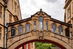 Архитектура Оксфорда, Англии, Великобритании Стоковая Фотография RF