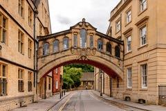 Архитектура Оксфорда, Англии, Великобритании Стоковое фото RF