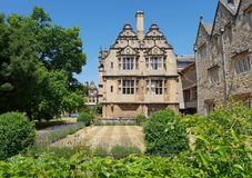 Архитектура Оксфорда, Англии Стоковое фото RF
