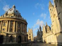архитектура 1 Оксфорда Стоковые Изображения