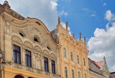 Архитектура домов от Brasov Стоковые Фотографии RF