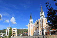 Архитектура парка Abejorral, Antioquia, Колумбии Стоковые Изображения RF