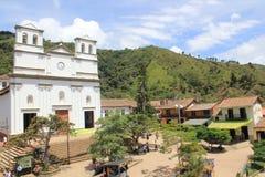 Архитектура парка ¡ BuriticÃ, Antioquia, Колумбии Стоковое Изображение