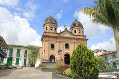 Архитектура парка ³ n ConcepciÃ, Antioquia, Колумбии Стоковая Фотография