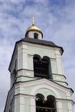 Архитектура парка Tsaritsyno в Москве башня колокола старая Стоковые Изображения RF