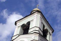 Архитектура парка Tsaritsyno в Москве башня колокола старая Стоковое фото RF