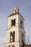 Архитектура парка Tsaritsyno в Москве башня колокола старая Стоковое Изображение RF