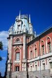 Архитектура парка Tsaritsyno в Москве Большой дворец Стоковое фото RF